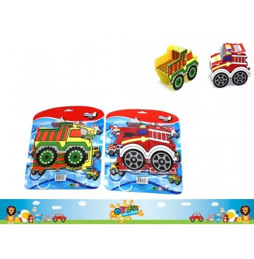 Tub Toy 3d Puzzle Vehicles
