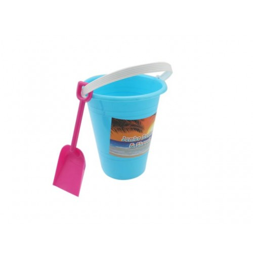 Castle Beach Bucket With Spade