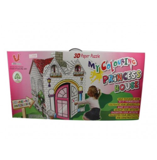 Play House Princess In Colr Box 80x60x115cm