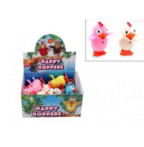 Happy Hopper Chickens In Dis