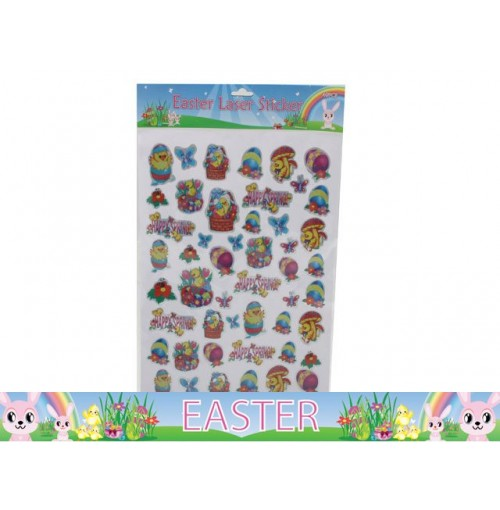 Easter Laser Stickers