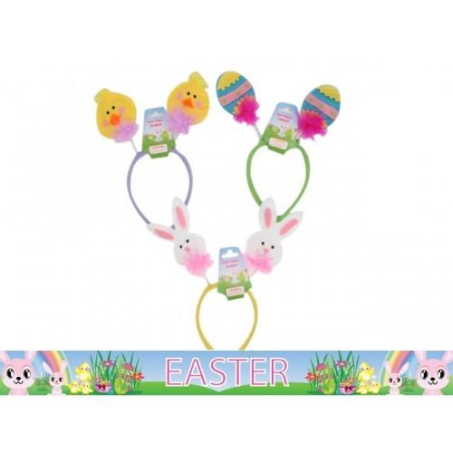 Easter Headband Novelty Bopper 3 Asstd