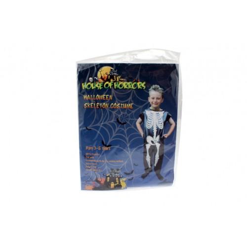 Halloween Costume Skeleton Childs
