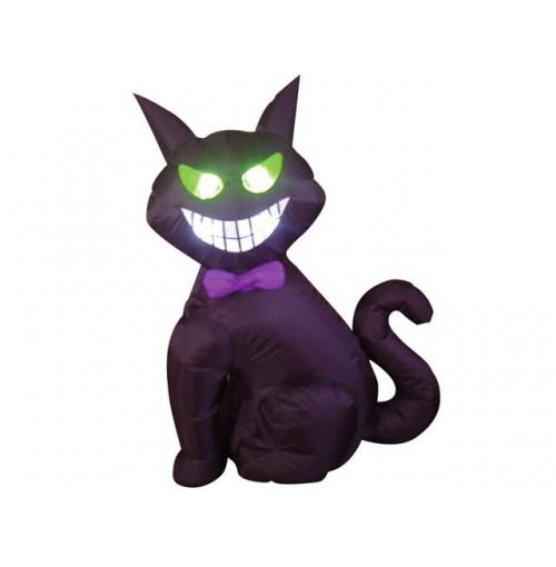 Halloween Black Cat Inflatable 120cm