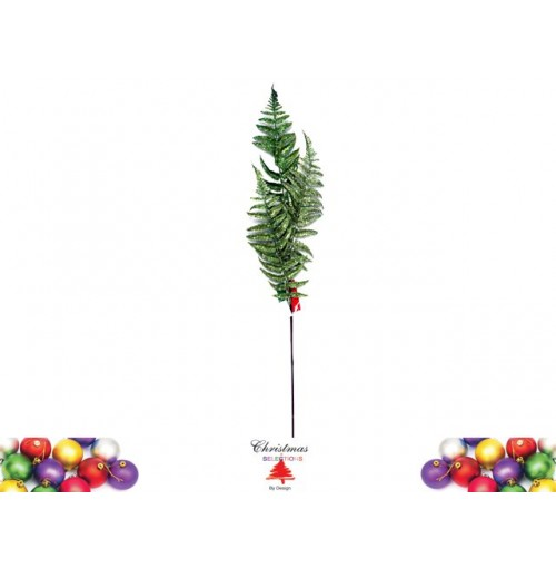 Xmas Holly Deco Glitter 96cm