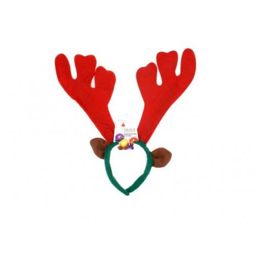 Reindeer Antlers W/Ears