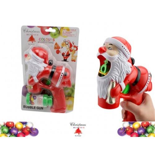 Santa Bubble Gun