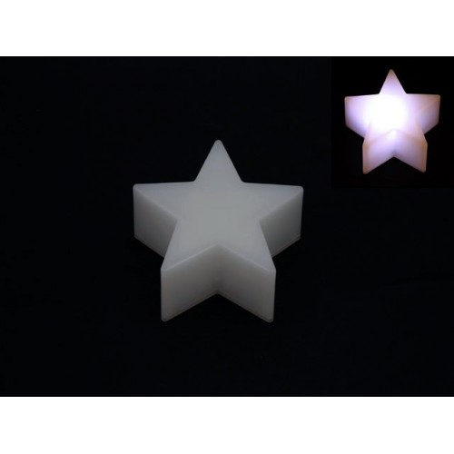 Star Table Deco Led 8.5cm 4 Colr Changing
