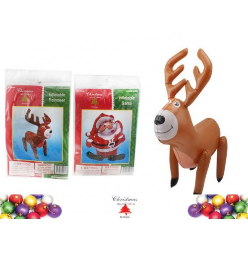 Inflatable Xmas Character 50x40cm
