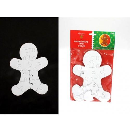 Jigsaw Ginger Bread Man 5pk