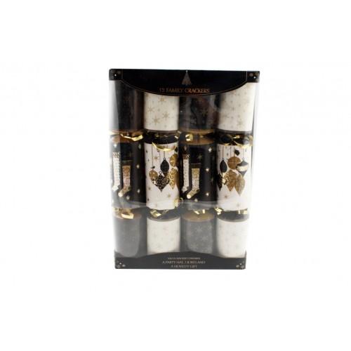 Luxury Crackers 30cm 12pk Window Box