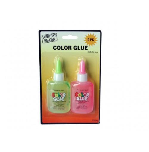 Glue Fluorescent 2pk 40g