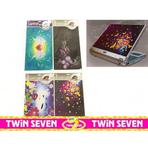 Laptop Stickers Girl 39x25.5cm Peel & Stick