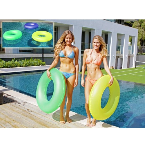 Giant Frosted Swim Ring