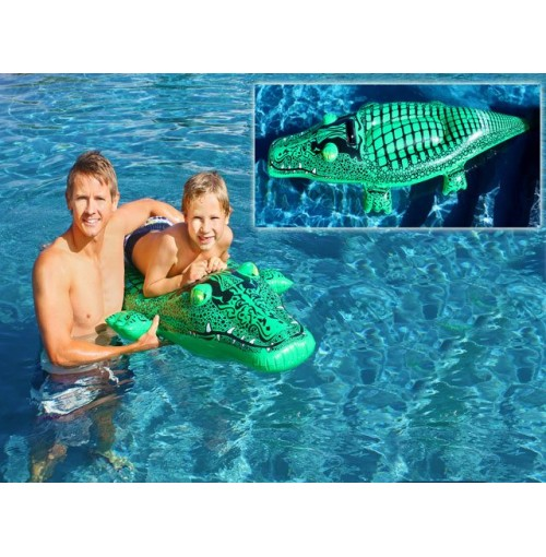 Inflatable Crocodile Ride On