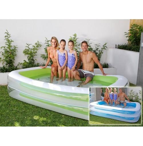 Rectangular Family Pool