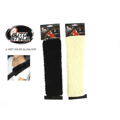 Seat Belt Shoulder Pad Wool