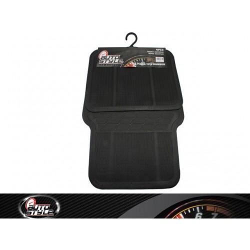 Car Mats Tpr Rubber 4pc Black