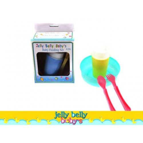 Baby Feeding Set 4pc