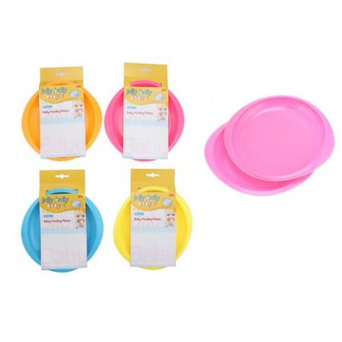 Baby Feeding Plates 2pk