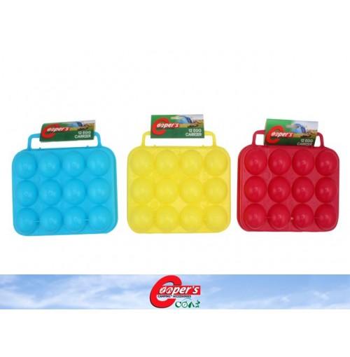 Egg Carrier 12 Egg Plastic
