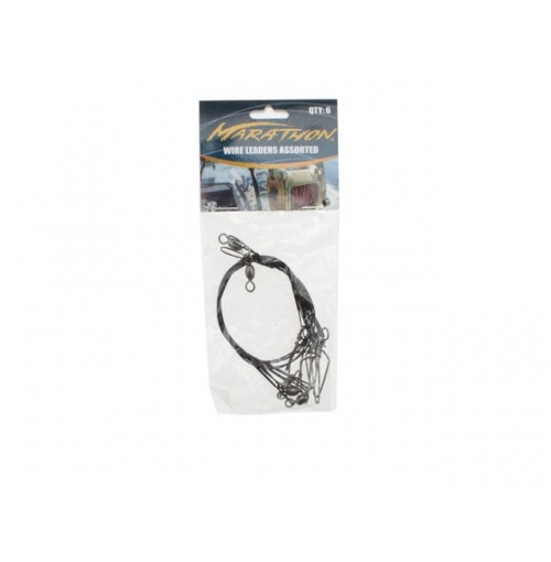 Fishing Wire 6/ 9/12inch 6pcs Leaders
