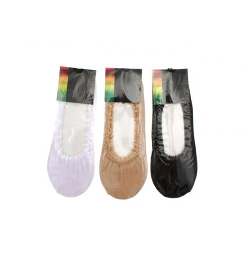 Sockettes Ladies 3 Asst Colrs