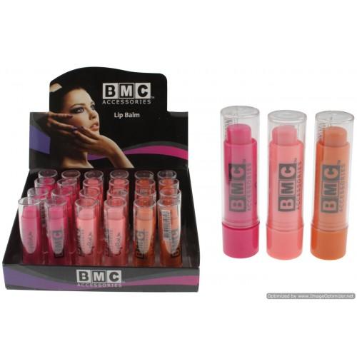Bmc Lip Balm 3 Cols Hot Pink Dark Pink Orange 3.8g