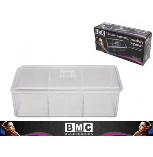 Cosmetic Jewelley Box 3 Sec 24 X 10.5 X 7.3cm