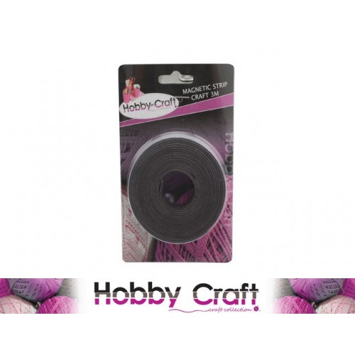 Magnetic Strip Craft 3m On Card