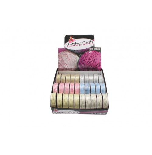 Lace Ribbon 2m x 22mm