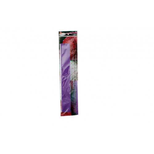 Crepe Paper 50x200cm Purple 1pce 22gm