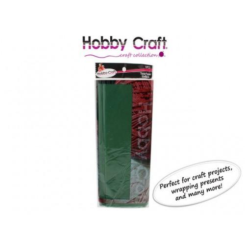 Tissue Paper 50x66cm Dark Green 10pcs