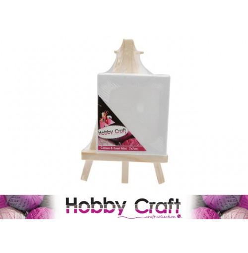 Canvas & Easel Mini 7x7cm