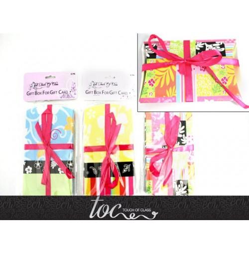 Gift Card Gift Box 6pk