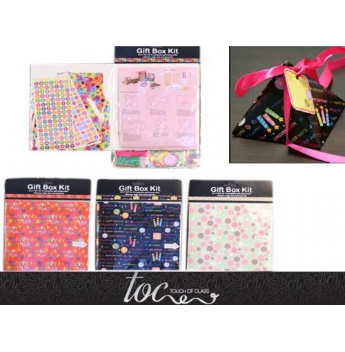 Gift Box Kits 6 Diy W/Access Designs