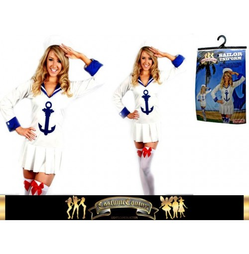 Girls Sailor Uniform Dress Up