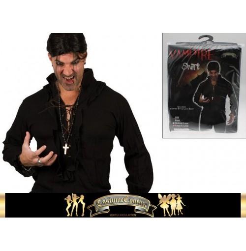 Vampire Shirt 2 Sizes Black