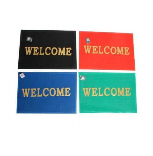 Mat Floor Welcome H/D  58x35cm