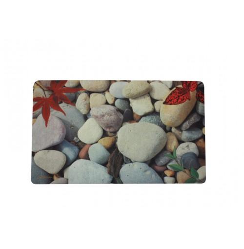 Door Mat Photo Print Stones 4 Asst 45x75cm