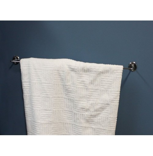 Towel Rail 500mm Chrome Plated W/Fixings
