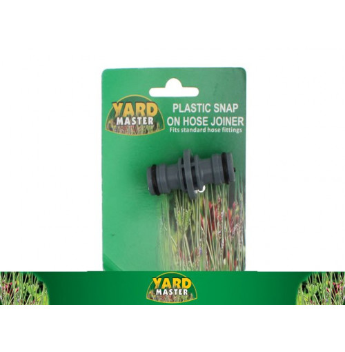 Plastic Snap On Hose Joiner On Tie Card