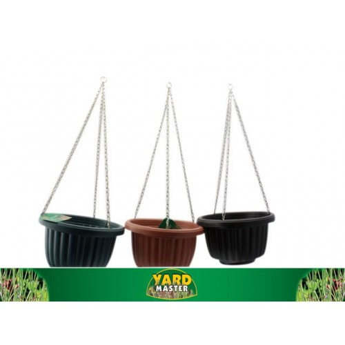 Hanging Basket 19.8x11cm W/Chain 30cm