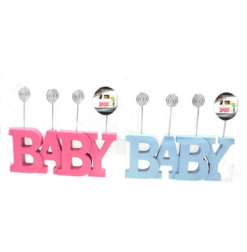 Baby Word Photo Holder 27cm