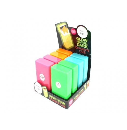 Cigarette Case Glow In The Dark Holds 20 Pk