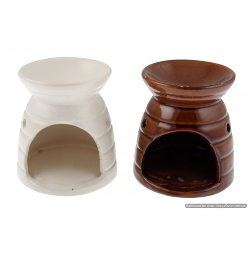 Ceramic Oil Burner Deluxe 6.7x7.8x8.5cm