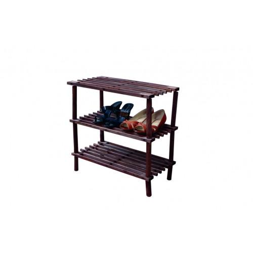 Shoe Rack Wooden 3 Shelf