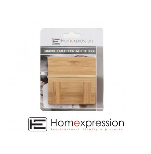 Home Expression Bamboo Hook Double Over The Door