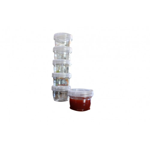 Storage Containers Twist 6 Piece Stackable