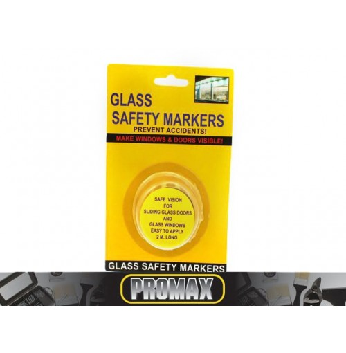 Glass Safety Markers 2m